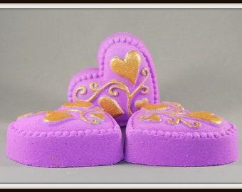 Bath Bomb ~ Love Potion Heart (VS Lovespell Dupe) 3.5 oz