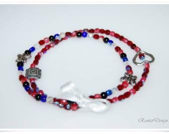 Double bracelet Stretch Bracelet bohemian chic classic style boho mito_family_o_p.indd bracelet bohemian style