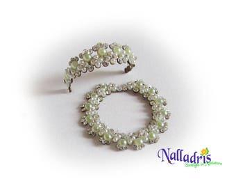 Miniature Crystal Tiara and Necklace