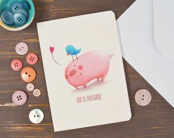 Greeting Card with original illustration