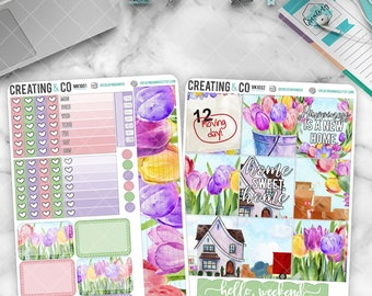 Home Sweet Home HORIZONTAL Weekly Planner Kit  - MK10