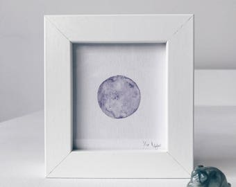 Framed Mini Moon Limited Edition Number 1/10