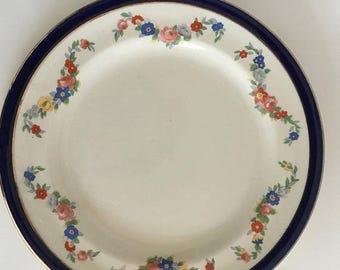 30% OFF STARTS NOW Alfred Meakin Bleu de Roi Salad Plate Side Plate