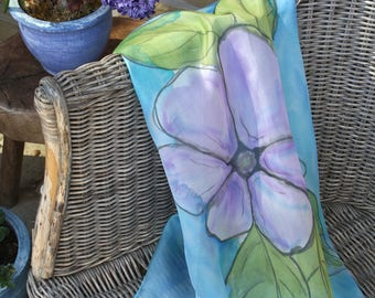 Women's scarves - Hand painted silk scarves - Spring summer scarves - Natural silk scarf - Best gifts for her- Silk scarves - Luxury scarves