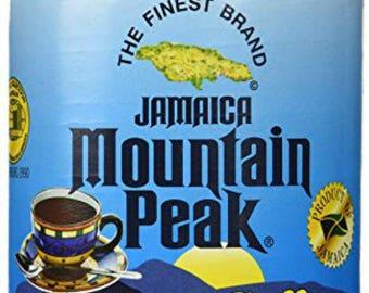 JAMAICA MOUNTAIN PEAK instant jamaican coffee 6 oz