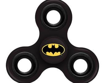 Batman Black Three Way Diztracto Spinner Officially Licensed Fidget Spinnerz Toy