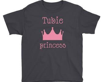 Tubie princess Youth Short Sleeve T-Shirt