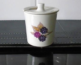 Royal Worcester Evesham Little Mustard Pot