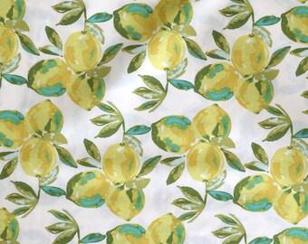 Fabric - Art Gallery - Sage Yuma Lemons Mist - cotton print.