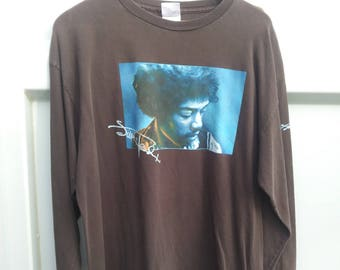 Vintage Jimi Hendrix Shirt Long Sleeve XL