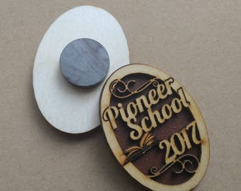 Pioneer School 2017 Mini Magnet