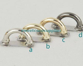 bridge buckle ,belt buckle , strap buckle 10pcs ( attach with screws and washers)