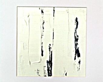 Minimal art oil painting abstract 176 B original