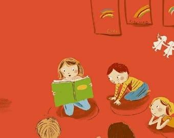 Kinder - Kindergarten Red - Heather Ross - Windham (43480-2)
