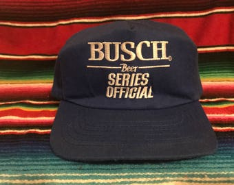 VTG Busch Beer Series Official NASCAR Racing Royal Blue Snapback