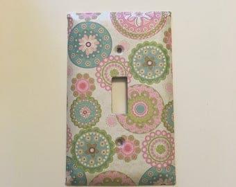Single standard light switch cover