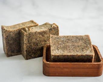 Kitchen Soap - Coffee Soap - Coffee Scrub Soap - Scrub Soap - Exfoliating Soap - All Natural Soap - Homemade Soap - Cold Process Soap