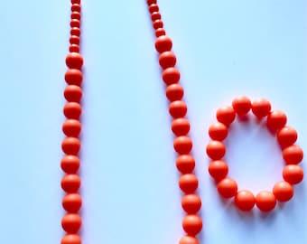 Sale- Orange Pearl Style Set