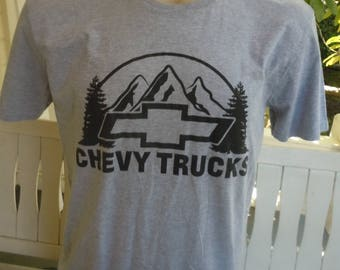 Size XL (47) ** Chevy Trucks Shirt (Single Sided)