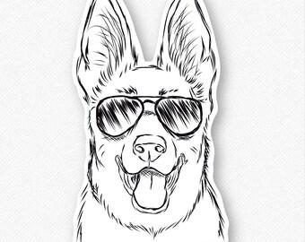 Brutus - German Shepherd Decal Sticker