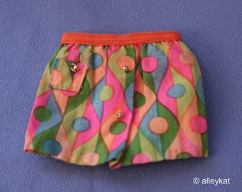 Mod Barbie Wild 'n Wonderful Skirt, EXC