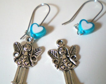 Kit EARRINGS * Petite Fée * silver plated hooks
