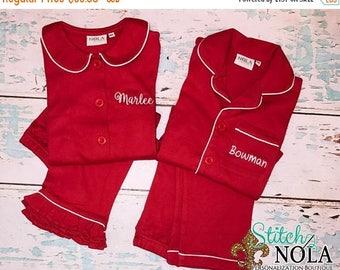 SALE 15 PERCENT OFF Pre-Order Children's Christmas Loungewear, Xmas Loungewear, Xmas Outfit, Christmas Morning Loungwear, Boy Loungewear