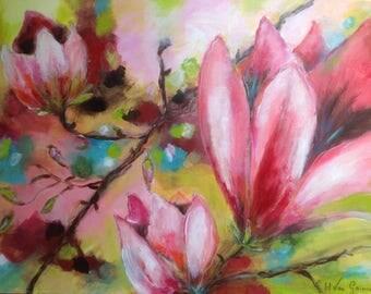 Flower Magnolia