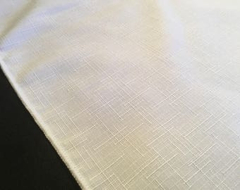Assorted Poly Blend Easy Care Tablecloths White Square Rectangle