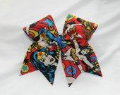 Wonder Woman Cheer Bow Hair Bow