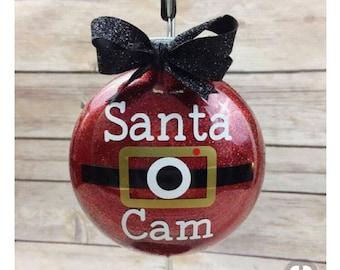 Christmas Surveillance Camera Ornaments