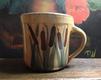Monroe Salt Works - Cattail Mug - Maine