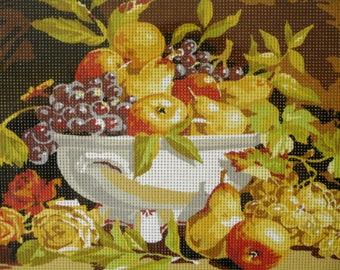 Needlepoint tapestry kit, FRUITS, 40 x 30 cm, FK006