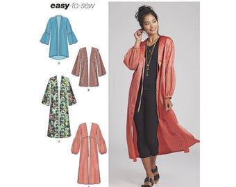 Simplicity Pattern 8553 Misses' Kimonos