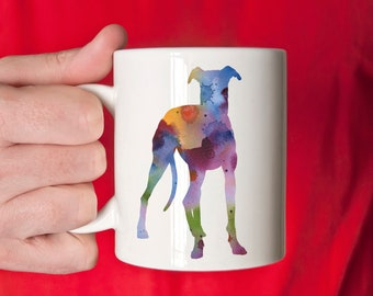 Greyhound Mug - Greyhound Lover Gift - Greyhound Coffee Mug - Unique Greyhound Gifts