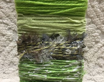 FUNCTIONAL FIBERS! - Shades of Green! - 10 Yards of Each Hue!