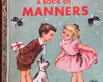 Romper Room Do Bees A Book of Manners; A  Edition; Little Golden Book