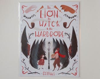 Lion, Witch and the Wardrobe Print