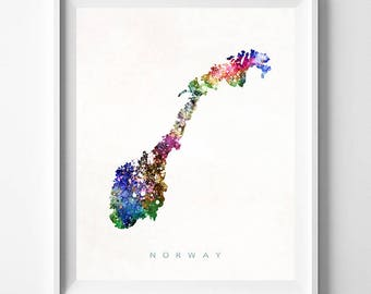 Printable Norway Map Golden Map Print Golden Norway Poster - Norway map to print