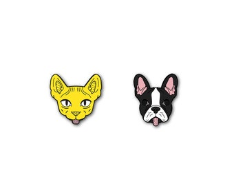 PIN SET (Sphynx/Frenchie)