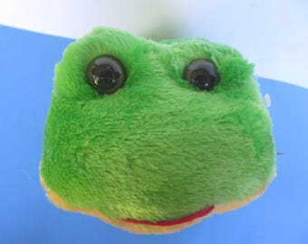 Plush Toy - Green Frog - Long Legs -unused  plushies