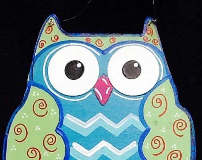 Owl sign, owl door hanger, teacher door hanger, school sign, school door hanger, school decoration, owl decoration