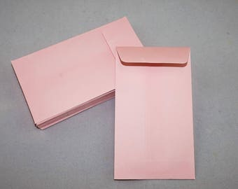 """COIN ENVELOPES - 4.25"""" x 2.5"""" for weddings/invitation & gift cards/small parts (Pack of 100)"""