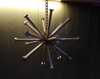 Metal Art Hanging Star