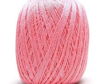 Anne 250 pink Mercerized cotton