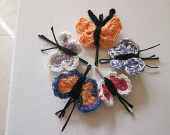 HAIR CLIP with BUTTERFLY-shaped