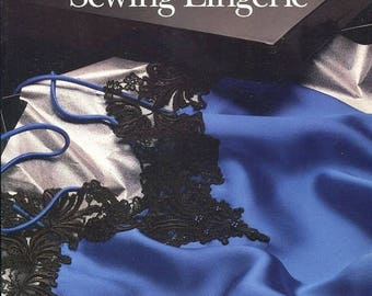 Eclipse SALE 1990s  Sewing Lingerie Singer Sewing Reference Library Paperback Book 1991