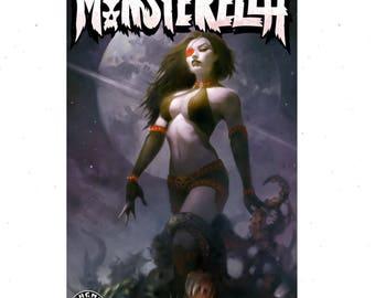 Monsterella Comic signed by Sun Khamunaki