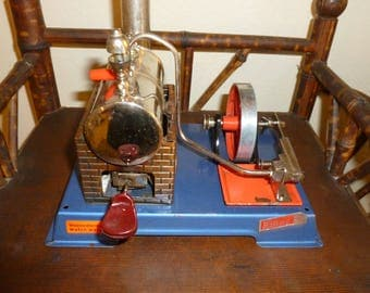 "Vintage Toy "" Wilesco"" Steam Engine 1960's"
