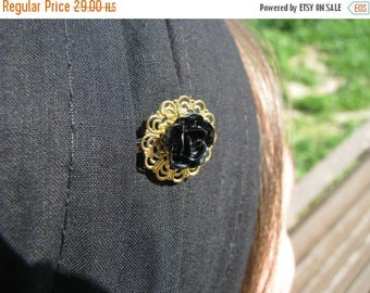 SALE Special occasion golden bobby pin,resin flower bobby pin,tichel accesory,hair pin,hair accesories